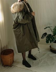Original raccoon yasang (khaki)