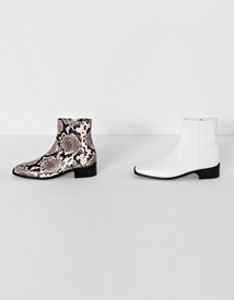 Square ankle boots ♩