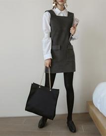 Pocket square dress