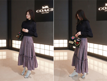 Yard long skirt