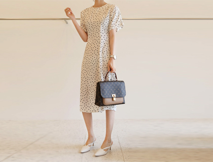 Feminine line dress