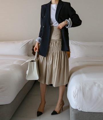 Smocking skirt