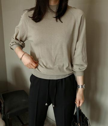 Clo raglan knit