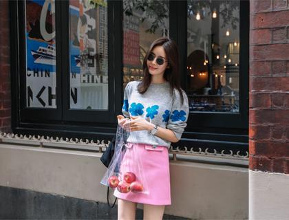 Jewellery mini skirt