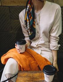 Wagon check scarf