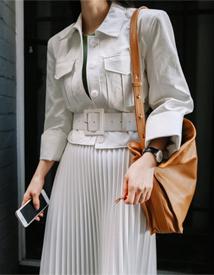 Port leather jacket