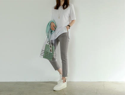 Joy slit pants