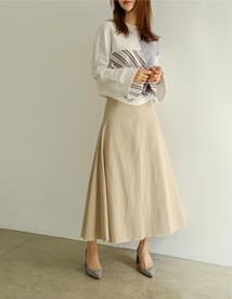 Hul cotton skirt