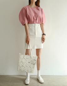 Mayday linen skirt