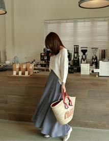 Multy-dot hul skirt