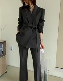 Maron linen jacket