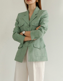 Nellia linen jacket