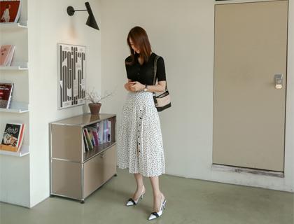 Character dot skirt