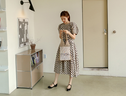 Lumi dot dress