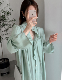 Lina frill dress