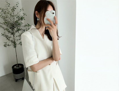 Feel linen jacket