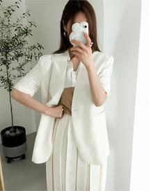 Feel linen skirt