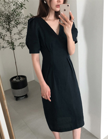 Awesome linen dress