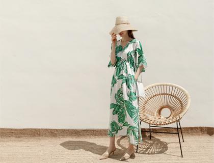 Yaja leaf dress