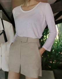 Ravo linen shorts
