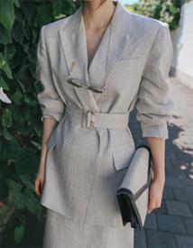 Amo linen jacket