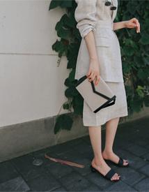 Amo linen skirt