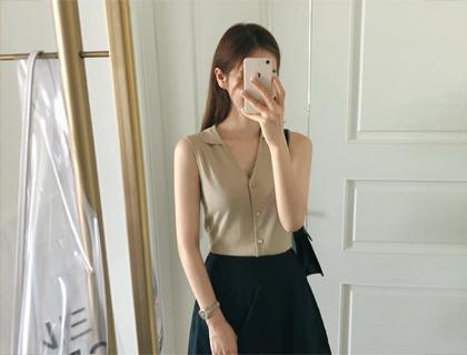 Reve sleeveless knit