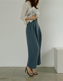 Lark belt linen pants