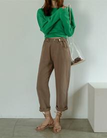 Latte button pants