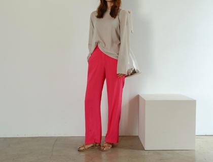 Rayon long pants