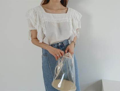 Anna square blouse
