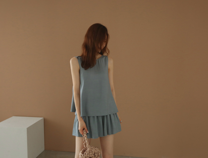 Smock two-piece