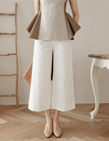 Selty wide pants