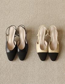 16063 sling back heel ♩