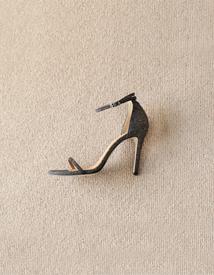 6119 Glitter slender heel ♩