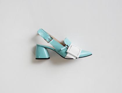 3199 buckle sling back heel ♩