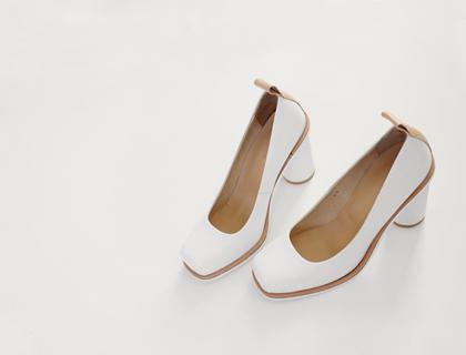 Su-made square heel ♩