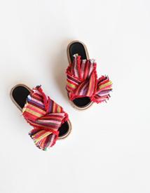 6133 ribbon slipper ♩