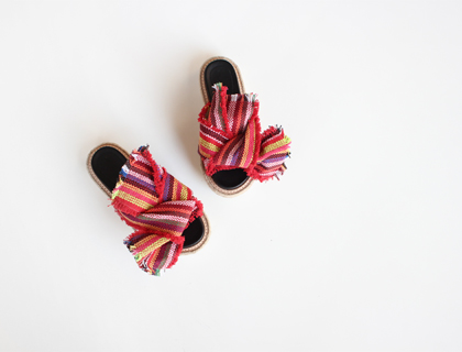 6133 ribbon slipper ♩