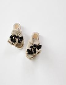 6146 ribbon slipper ♩