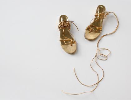 16412 string sandal ♩