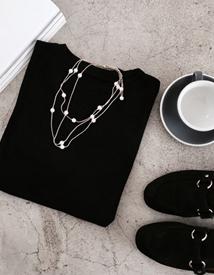Reel jinju necklace