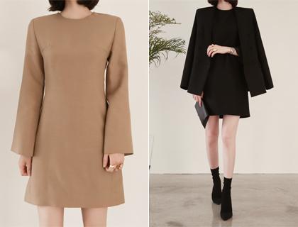 Woolsilk dress