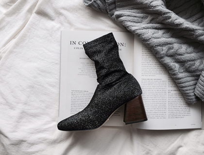 16771 knit boots ♩