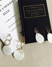 Nacre earring