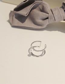 Dujul pearl ring