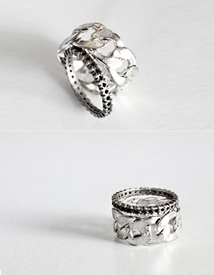 Gothic chain ring *2ring set*