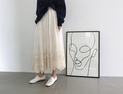 Romance lace skirt
