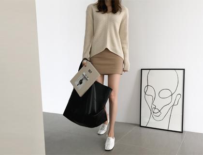 Basis mini skirt