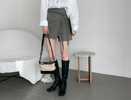 Nat wrap skirt